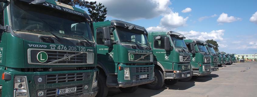 Areál DTS Vrbenský, a.s. - Nákladní vozy Volvo