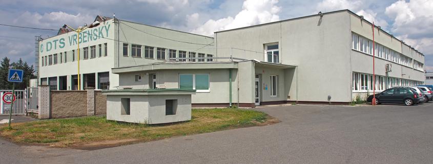 DTS Vrbenský, a.s. - Hlavní budovy společnosti