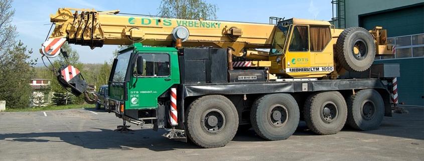Jařáb Liebherr LTM 1050