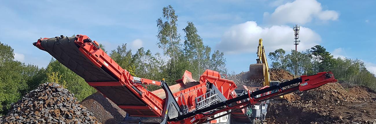 Třídící linka Sandvik QJ341+