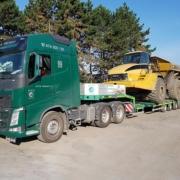 Nadrozměrná přeprava - Tahač Volvo