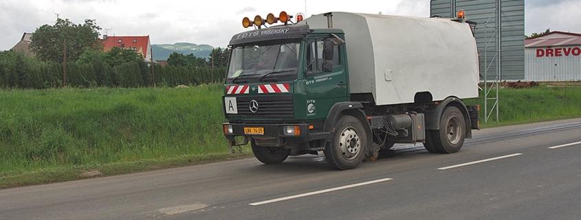 Mercedes Atego – zametač